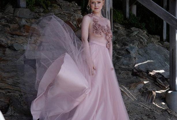 "Silk dress ""Princess"""
