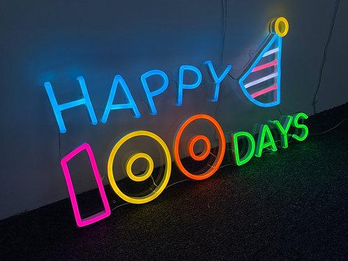 Happy 100 Days - Rental