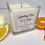 Thumbnail: Sparkling Fizz & Citrus Scented Candle - SMALL