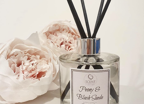 Peony & Blush Suede Scented Diffuser