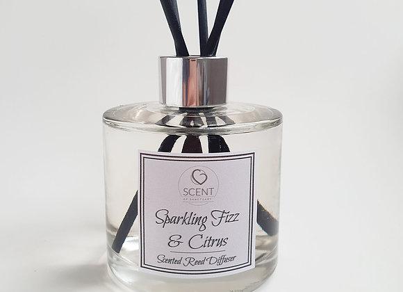 Sparkling Fizz & Citrus Scented Diffuser