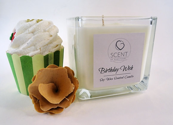 Birthday Wish Scented Candle - Large