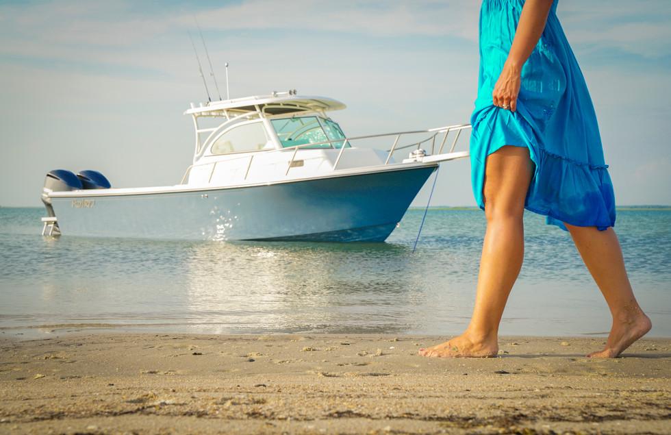 Parker Boat 28WA Beach Feet.jpg