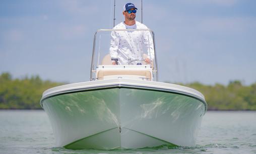 Parker Boats 1801CC Draft