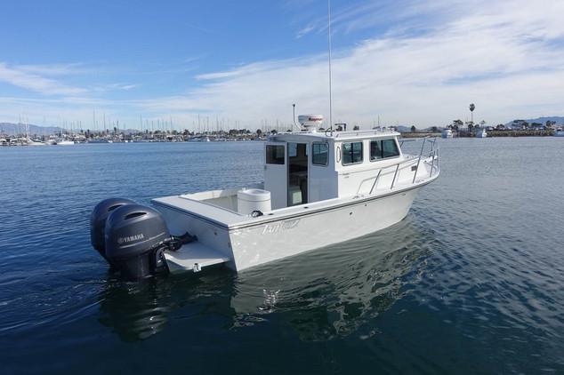 Parker Boats 2530EXT Harbor Life Closeup