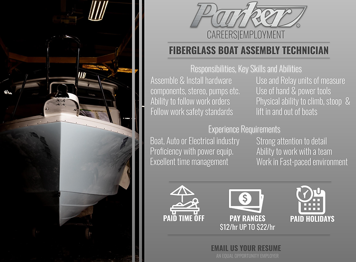 Parker Boats Fiberglass Assembly Tech.pn