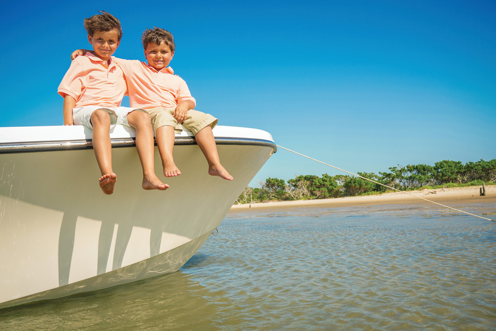 Parker Boats Lifestyle Brothers on the B