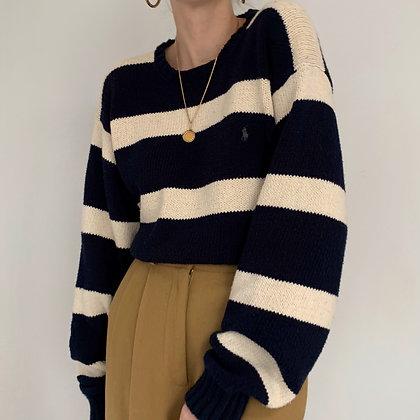 Vintage Ralph Lauren Striped Knit Pullover