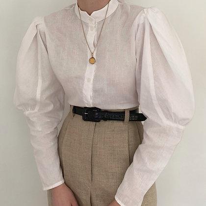 Vintage Edwardian Mutton Sleeve Blouse