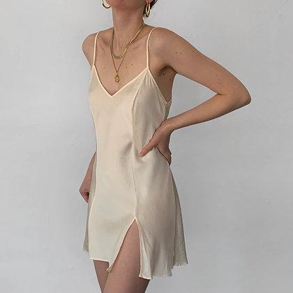 Vintage Victoria's Secret Ivory Silk Slip Dress