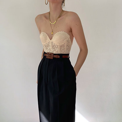 Vintage Armani Noir High-Waisted Trousers