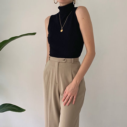 Vintage Sand Cropped Trousers (25-26W)