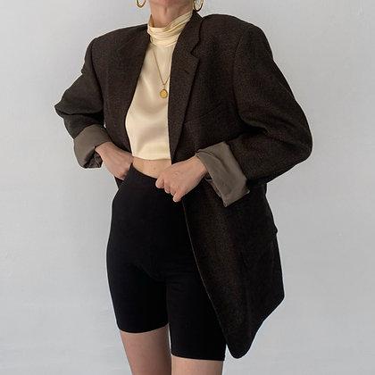 Vintage Givenchy Neutral Toned Tweed Blazer