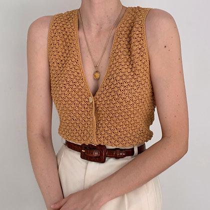 Deadstock Vintage Butternut Knit Tank Top