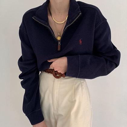 Vintage Ralph Lauren Midnight Half Zip
