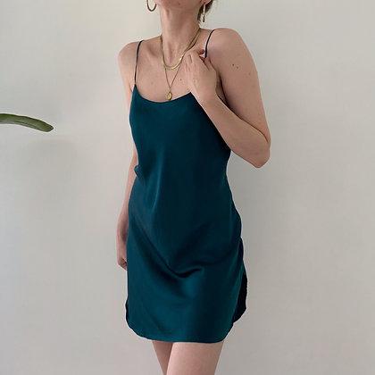 Vintage Victoria's Secret Ocean Silk Slip Dress