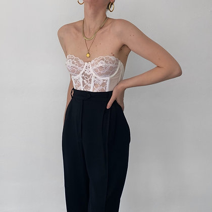 Vintage Escada Noir Trousers (27W)
