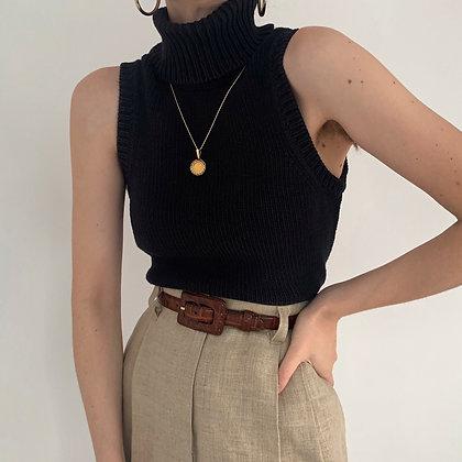 Vintage Michael Kors Onyx Knit Turtleneck