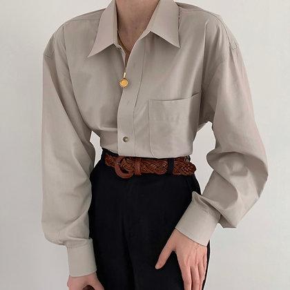 Vintage Yves Saint Laurent Cloud Button Up