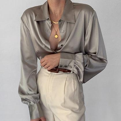 Deadstock Vintage Sterling Silk Blouse