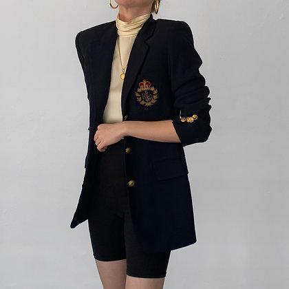 Vintage Ralph Lauren Midnight Crest Blazer