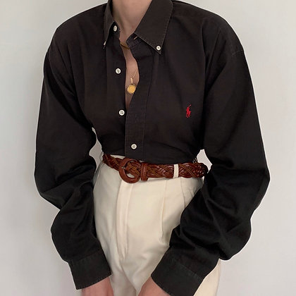 Vintage Ralph Lauren Onyx Button Up