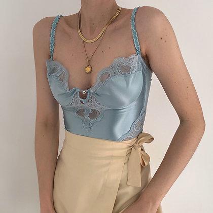 Rare Vintage Dior Sky Lacy Bustier (36C)