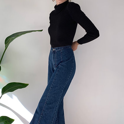Vintage High Rise Flare Jeans (28W)