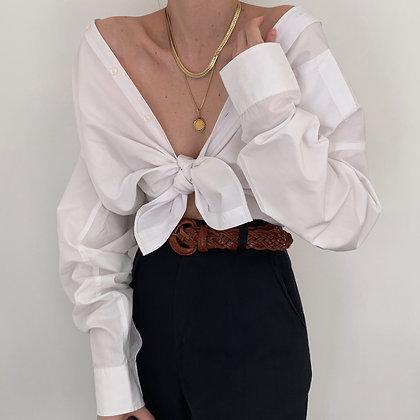 Vintage Dior Snow Button Up Blouse