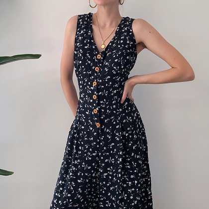 Favorite Vintage Floral Silk Jumpsuit