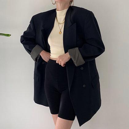 Vintage Givenchy Midnight Wool Blazer