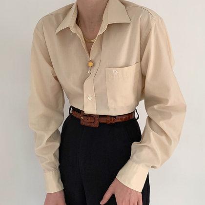 Vintage Dior Blush Pocketed Button Up