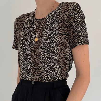 Favorite Vintage Leopard Print Shirt