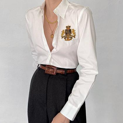 Vintage Ralph Lauren Snow Crest Button Up