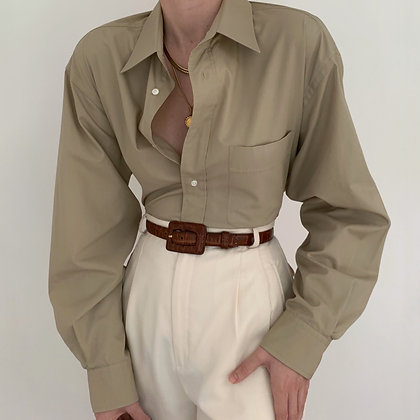 Vintage Yves Saint Laurent Sahara Button Up Blouse