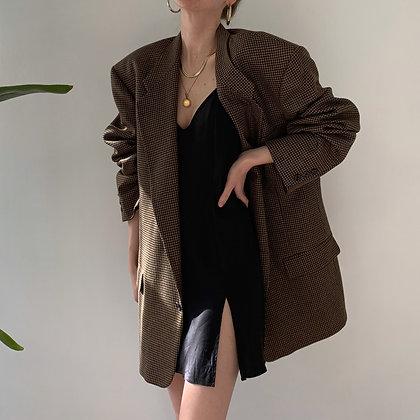Vintage Givenchy Houndstooth Blazer