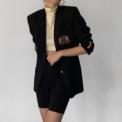Favorite Vintage Ralph Lauren Noir Crest Blazer