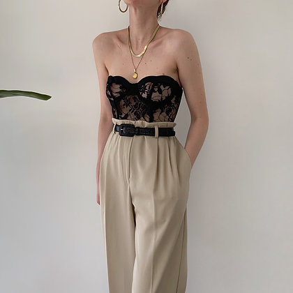 Vintage High-Waisted Trousers (26-28W)