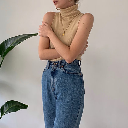 Rare Vintage Levi's 512 High-Waisted Jeans (25W)