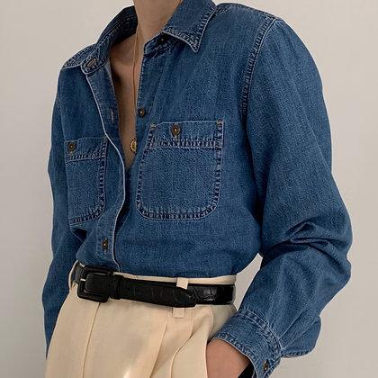 Vintage Liz Claiborne Denim Button Up