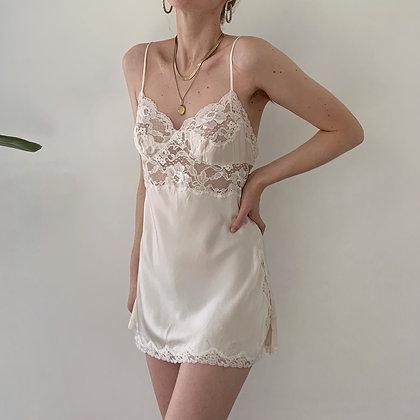 Vintage Victoria's Secret Pearl Silk Slip Dress