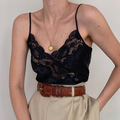 Vintage VS Black Lacy Camisole