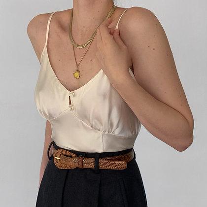Vintage Victoria's Secret Pearl Silk Camisole
