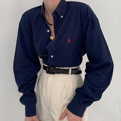 Vintage Ralph Lauren Midnight Button Up