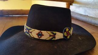 Geometric and Basque Symbol Hatband Darc