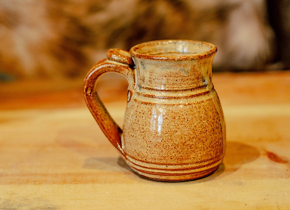 Small Brown Handmade Mug