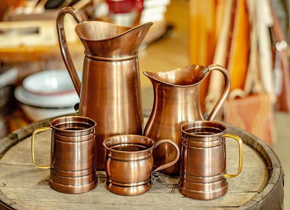 Copperware Pitchers & Mugs