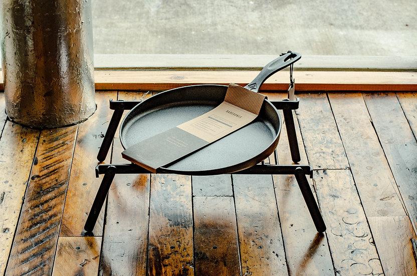 """12"""" Cast Iron Flat Pan"""