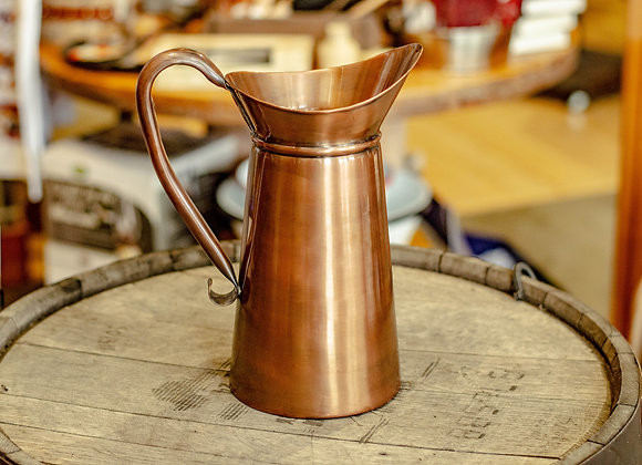 Antiqued Copper 2 Quart Pitcher