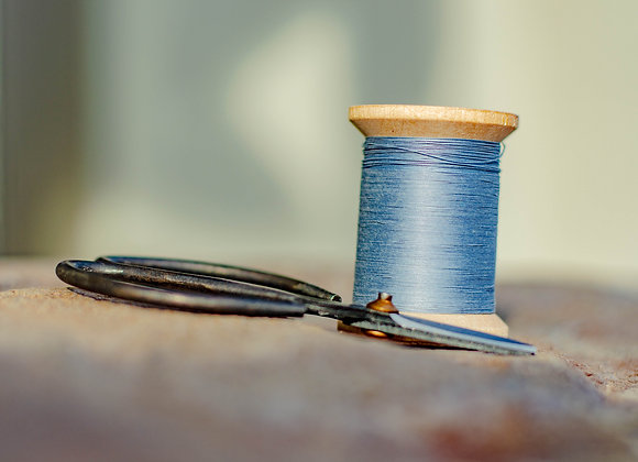 Cotton Sewing Thread on Wooden Spool